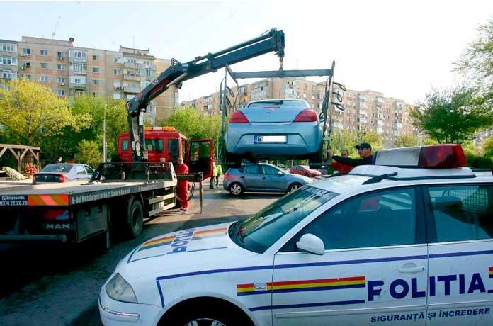 Anunț de ULTIMĂ ORĂ – De când începe RIDICAREA mașinilor parcate neregulamentar în București