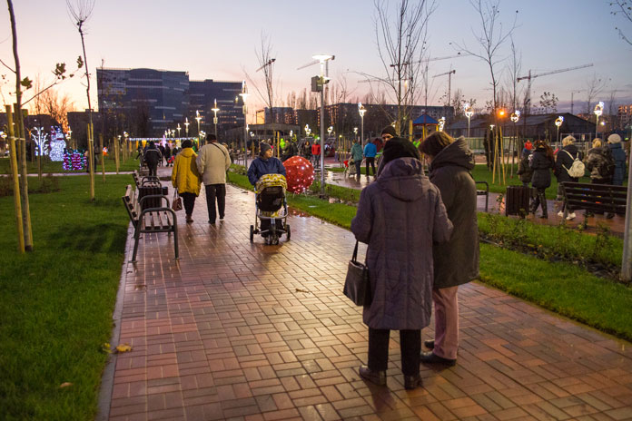 Cel mai nou parc din Bucureşti s-a deschis în Sectorul 6,  de 1 Decembrie